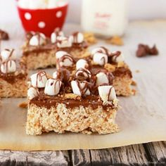 The 36th AVENUE | S'mores Rice Krispie Treats