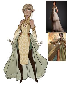 """the-orator: """"an attempt at designing a Halamshiral dress for Dany. I wanted to make it fancy but also make sure she could scale garden walls in it without much problem (without a single soul noticing. Fantasy Character Design, Character Design Inspiration, Character Concept, Character Art, Concept Art, Dnd Characters, Fantasy Characters, Female Characters, Character Costumes"""