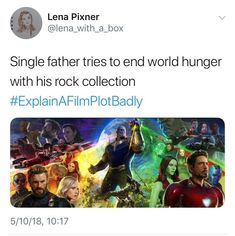 While another single father finds a new Boyfriend and trys to save the day - Marvel Marvel Jokes, Funny Marvel Memes, Dc Memes, Avengers Memes, Marvel Dc Comics, Marvel Avengers, Funny Memes, Hilarious, Avengers Imagines