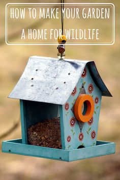 Turning your garden into a home for wildlife doesn't have to be time-consuming or expensive. Small changes can have a big impact; here are some ideas.