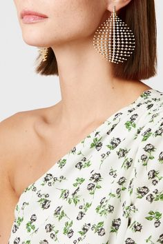 Fernando Jorge | Disco 18-karat gold diamond earrings | NET-A-PORTER.COM