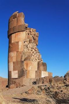 Acabo de compartir la foto de Ronald Alex Espinoza Marón que representa a: la Chullpa Lagarto, la más alta del complejo Sillustani