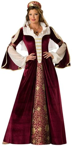Adult Elegant Empress Renaissance Costume Adult Princess Costumes - Mr. Costumes