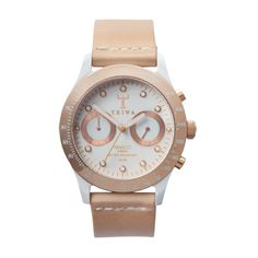 Watches By Triwa, Ivory Rose Tan