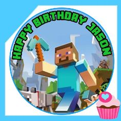 Edible Cake Toppers Minecraft Edible Image Cake Borders