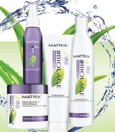 I love the Biolage Ultra Hydrating products!