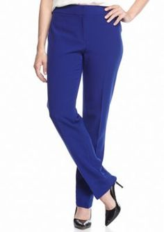Kasper  Petite Solid Kate Dress Pants