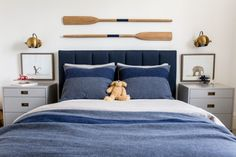 Have a look at this brilliant boys bedroom furniture - what an artistic project Boys Bedroom Furniture, Boys Bedroom Decor, Bedroom Themes, Bedroom Ideas, Teen Bedroom, Bedroom Inspo, Teen Boy Bedding, Blue Bedding, Bedding Sets
