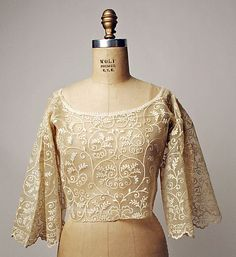 Blouse Date: 1875–1943 Culture: Philippine