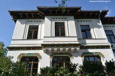 scoala centrala de fete Romania Travel, Mansions, Architecture, House Styles, Inspiration, Home Decor, Arquitetura, Biblical Inspiration, Decoration Home
