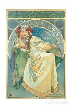 Princess Hyacinth, 1911 Giclee Print by Alphonse Mucha at AllPosters.com