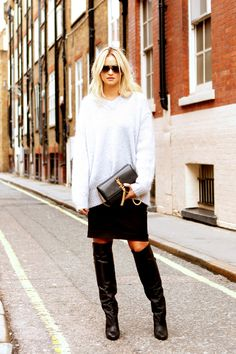Knitwear Street Style 11 - Trends fashion and style 2015