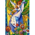 Puzzle David Galchutt: Angelic Harvesting Castorland 1000 pieces from Large choice of Jigsaw Puzzles - Angels, Fairies and Elves. Elves, Jigsaw Puzzles, Africa, David, Angel, Artwork, Painting, Unique, Harvest