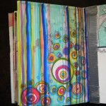 colors, art journal