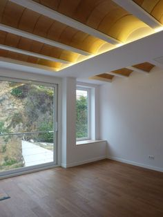 Gallery of House Ca's Bouer / Jordi Queralt + La Boqueria - 14 Brick Architecture, Architecture Details, Interior Architecture, Scandinavian Interior, Home Decor Kitchen, Ceiling Design, Model Homes, Custom Homes, New Homes
