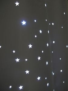 Twinkle curtain, from gra-studio.