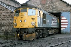 16/04/1982 - Inverness (IS) TMD, Scotland. | by 53A Models Electric Locomotive, Diesel Locomotive, Sealed Beam Headlights, British Rail, Train Pictures, Train Engines, Inverness, Scotland, Transportation