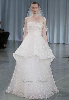 Monique Lhuillier - Bridal Gowns - Crescendo - http://womenspin.com/bridal-gowns/monique-lhuillier-bridal-gowns-crescendo/