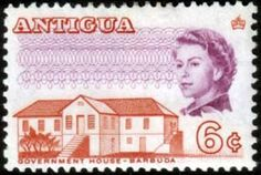 Antigua 1965 Government House Fine Mint SG 186a Scott 173a Other West Indies and British Commonwealth Stamps HERE!