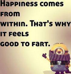 Funny Fart Minion