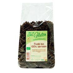 Ma vie sans gluten - Fusilli 100% sarrasin bio et sans gluten