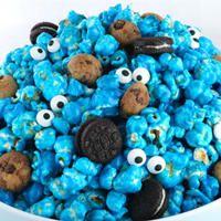 Cookie Monster Popcorn | Bobo Post