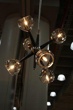 suspension moderne et idée d'éclairage design