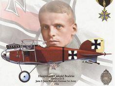 Albatros D. II  - Hauptmann Oswald Boelcke, Jagdstaffel 2 (Jasta Boelke), 1.Deutsche Armee, 1916