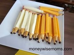 Cheese pencils
