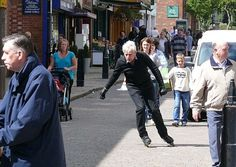 Extreme Old People - Rollerblading Man