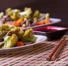 Gingery Beef & Broccoli via Ari's Menu