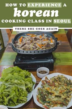 Ever wanted to experience a Korean cooking class in Seoul? Best Cooking Oil, Cooking Tips, Cooking Ribeye Steak, Cooking Measurements, Korean Food, Korean Bbq, Best Places To Eat, Cooking Classes, Food Preparation