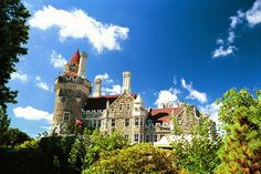 Casa Loma, Toronto. I visited Casa Loma with my dad and brother when I was a child.  I was in love with it.