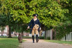 Liberty will be known as George Washington's dog, but will spend most of her time with a costumed handler.