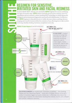 Psoriasis ? Eczema ? Rosacea ? SOOTHE by Rodan and Fields is your money back guarantee solution to your problems. If you don't get the results you want, you do get your money back. win/win www.judymikeska.myrandf.com