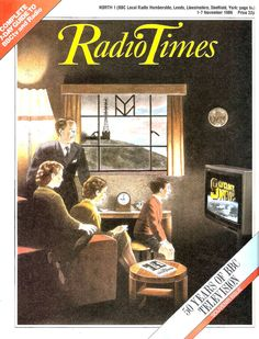 Radio Times Cover 1986-11-01