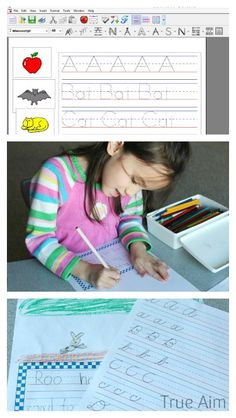 1000 images about writing skills for preschool on pinterest handwriting pencil grip and. Black Bedroom Furniture Sets. Home Design Ideas