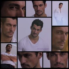 David Gandy Lucky Brand Summer 2013 'The New Cool' SS collage