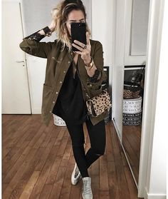 👈🏻 Trendy Outfits, Fall Outfits, Cute Outfits, Fashion Outfits, Just Style, Looks Black, Mode Chic, Look Fashion, Get Dressed