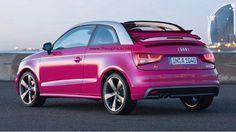 Audi A1 Cabriolet Rendering