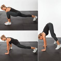 Cardio Burst: Plank Plyo Switch Lunges - The Short-Shorts Workout Routine - Shape Magazine