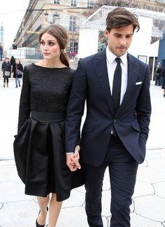 ummm yes! stylish couple!