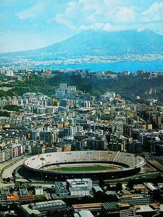 Stadio San Paolo, Napoli, 1982.