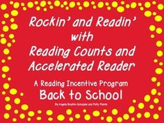 FREE Rockin' and Readin' Reading Incentive Fun--Back to School School Stuff, Back To School, Reading Counts, Reading Incentives, Accelerated Reader, Student Success, Reading Workshop, Bulletin Board, Second Grade