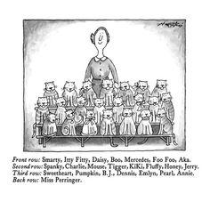 Cats New Yorker Cartoons, Limited Editions at Art.com