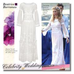 """Celebrity Weddings: Beatrice Borromeo"" by hamaly ❤ liked on Polyvore"