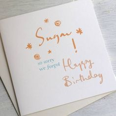 funny things to say on a birthday card | Cards Designs Ideas