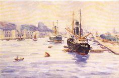 倪蔣懷,基隆港中進港的輪船