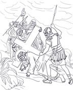 Jesus' Holy Week in Jerusalem Coloring pages. Select from 31983 printable Coloring pages of cartoons, animals, nature, Bible and many more. Free Printable Coloring Pages, Coloring For Kids, Coloring Pages For Kids, Coloring Books, Bible Lessons For Kids, Bible For Kids, Jesus Cartoon, Sunday School Coloring Pages, Printable Crafts