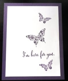 PENNY TOKENS STAMPIN SPOT: WWC76 - Penny's CAS Challenge - Butterflies http://pennytokensstampinspot.blogspot.ca/2016/07/wwc76-pennys-cas-challenge-butterflies.html